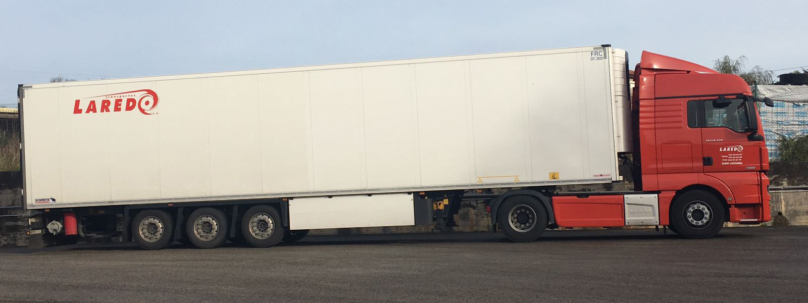 transportes laredo camion